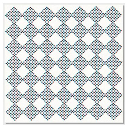 49 Grille Square Perforation Series
