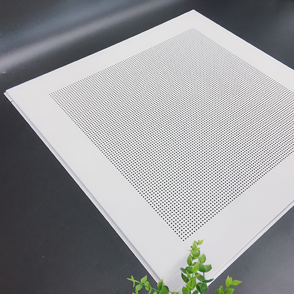 Style punching square plate