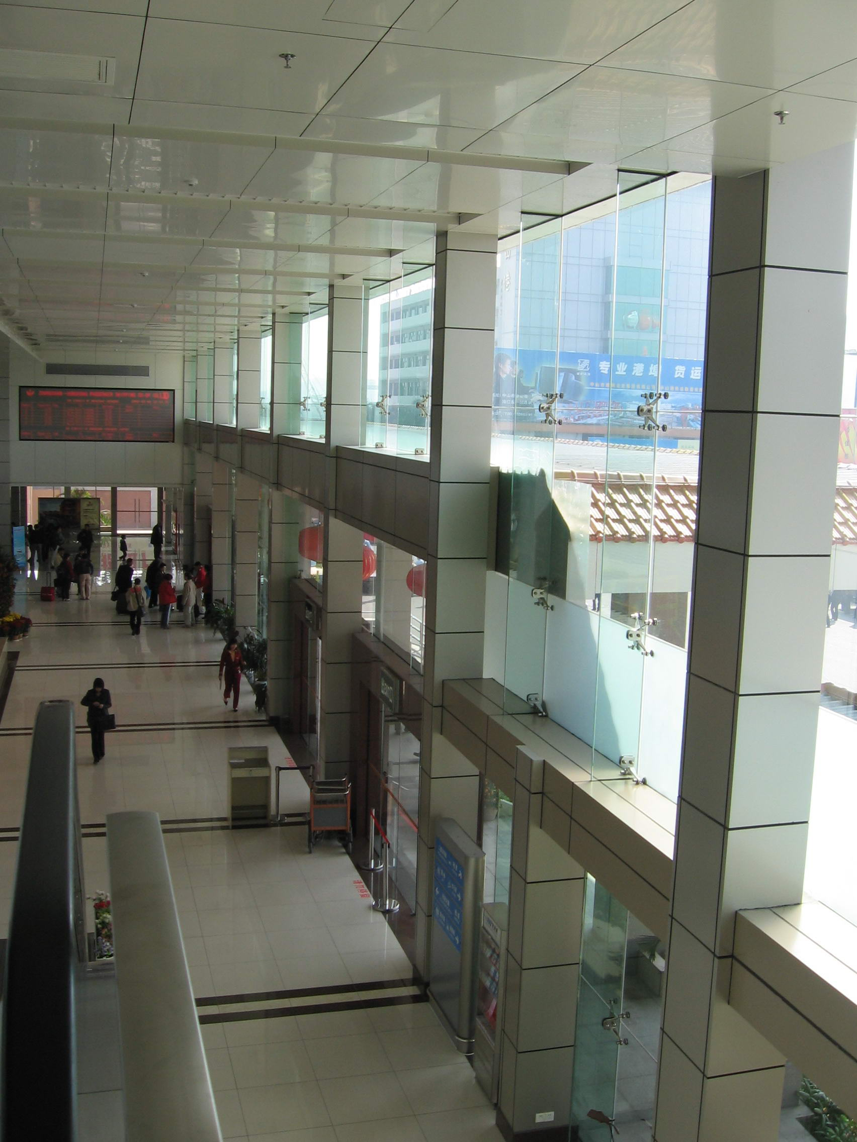 Zhongshan port passenger station smallpox project