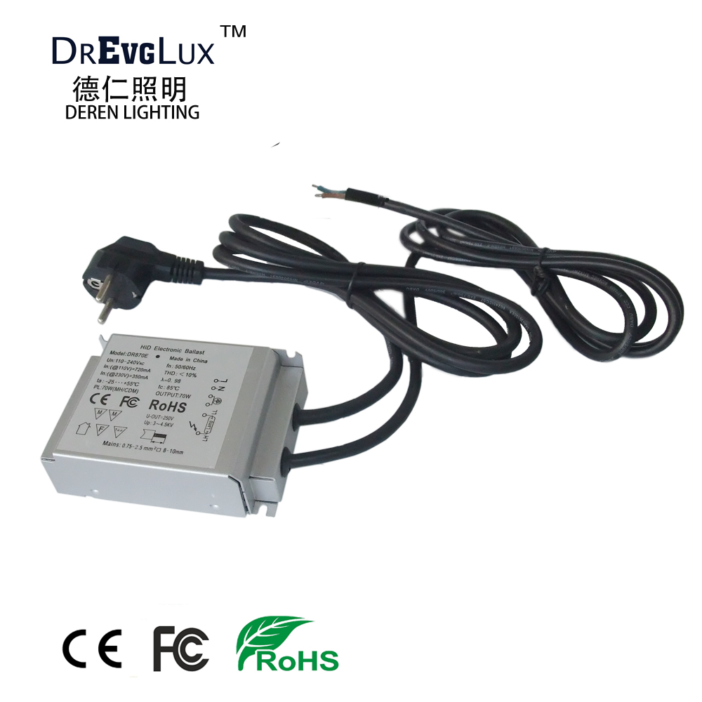 50W Electronic Ballast with EURO Plug