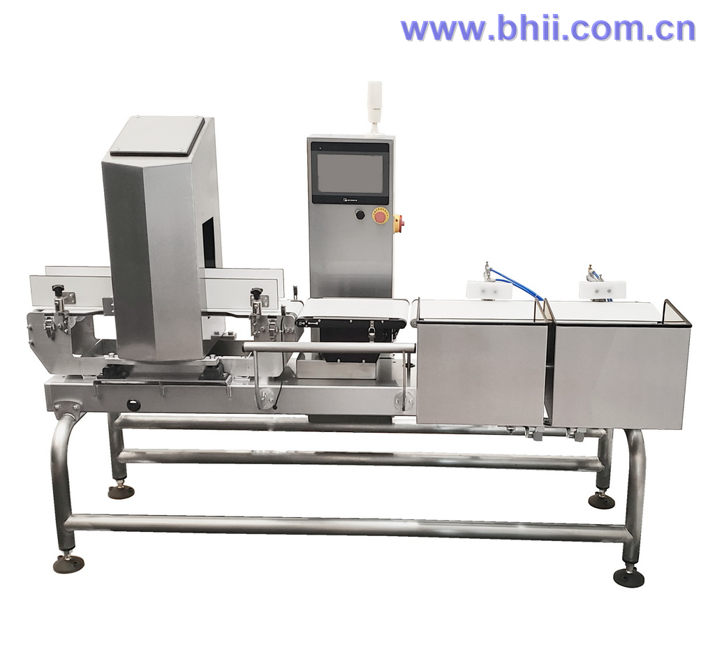 Combo - Metal Detector Checkweigher for Bottled Product/Soft Drinks/Juice/Mineral Water