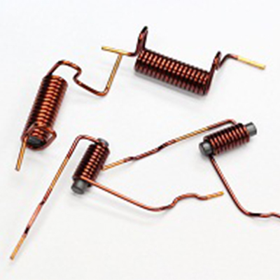 Inductors with ferrite cores