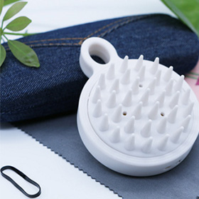 Shampoo and massage brush