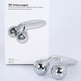 U-shape facial massager