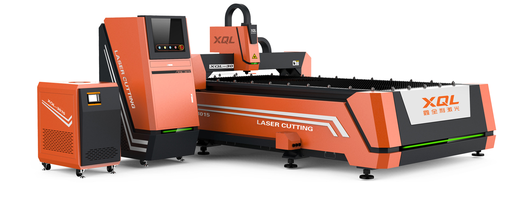 XQL-3015Dual drive laser cutting machine