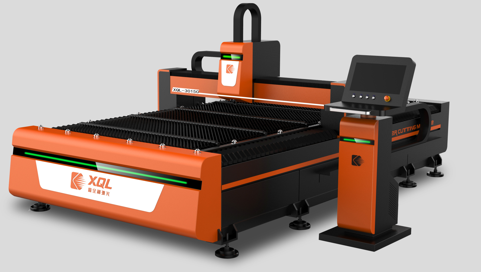 XQL-3015C  Industrial optical fiber laser cutting machine