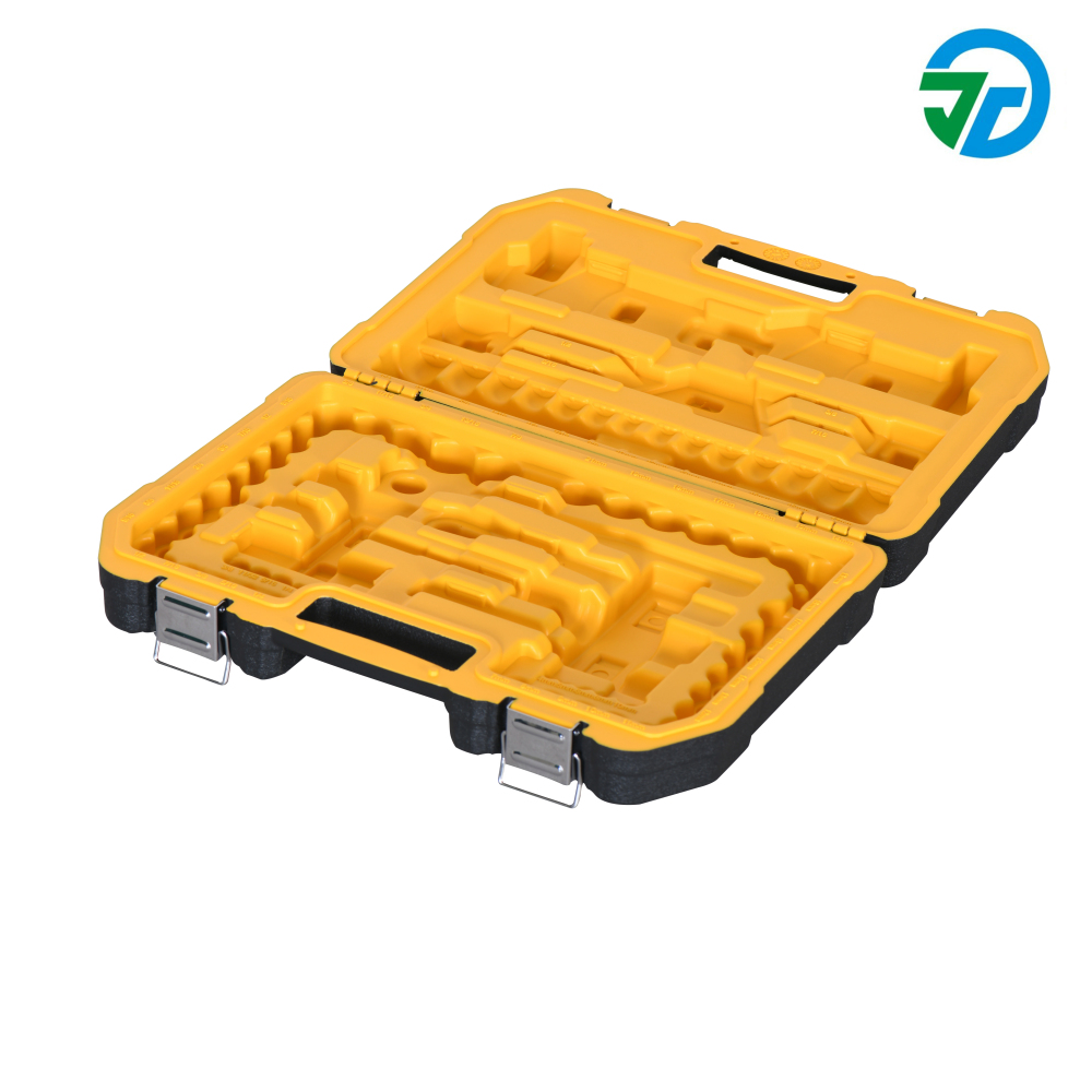 double color plastic tool box