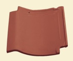 non-lustrous glaze Brown red