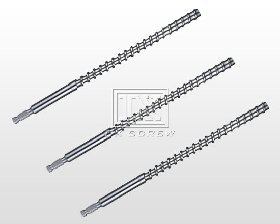 Injection molding machine screw-DX-MK fall hard screw (Referred to A level alloy)
