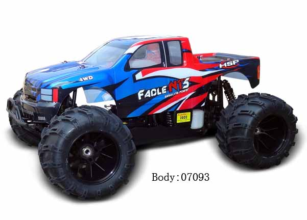 1/5 GASOLINE POWER MONSTER TRUCK(NO:94070)