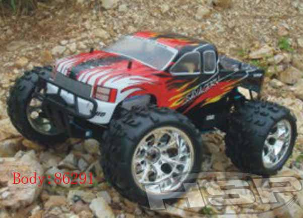 1/8 SCALE NIRO POWER ADVANCED MONSTER TRUCK(NO:94762)