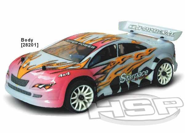 1/16 SCALE NITRO POWER ON-ROAD CAR(NO94282)