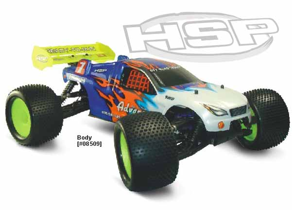 1/8 SCALE BRUSHLESS POWER RTR OFF-ROAD TRUGGY(NO:94085E9)