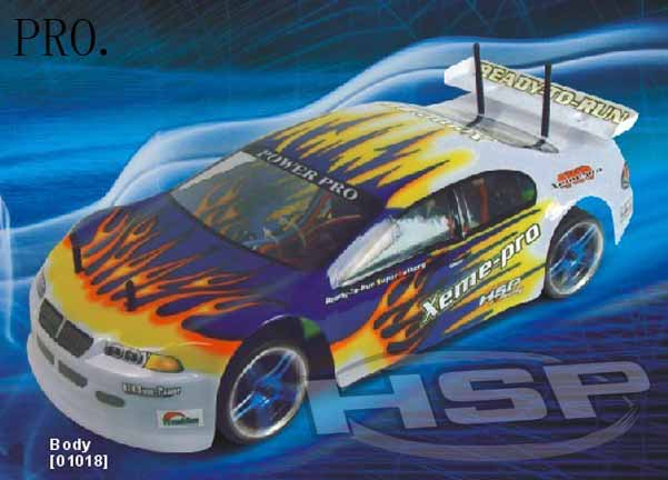 1/10 SCALE BRUSHLESS POWER ON-ROAD CAR(NO94103/PRO94103TOP)