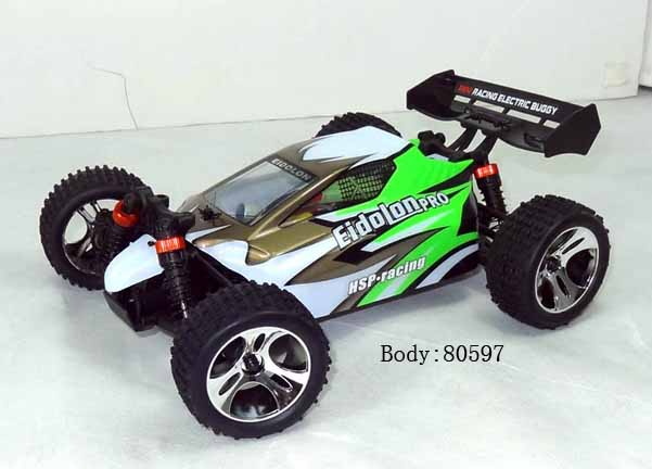 1/18 SCALE 4WD ELECTRIC POWER OFF-ROAD BUGGY(NO:94805PRO)
