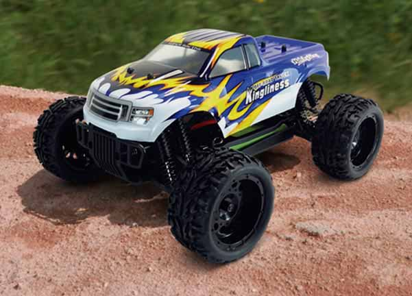 1/16 SCALE RTR 4WD ELECTRIC TRUCK(NO124860)
