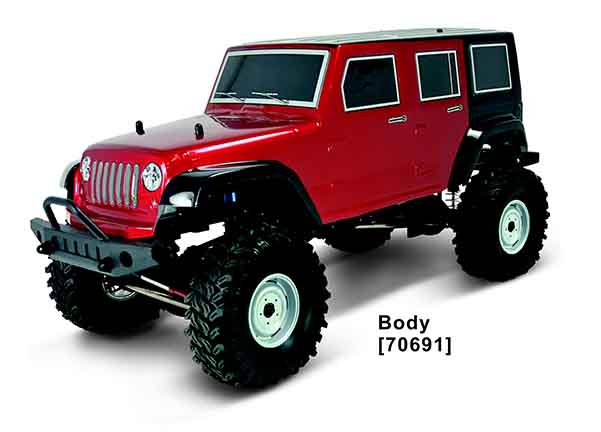 1/10 TH SCALE 4WD EP CRAWLER(NO.:94706)