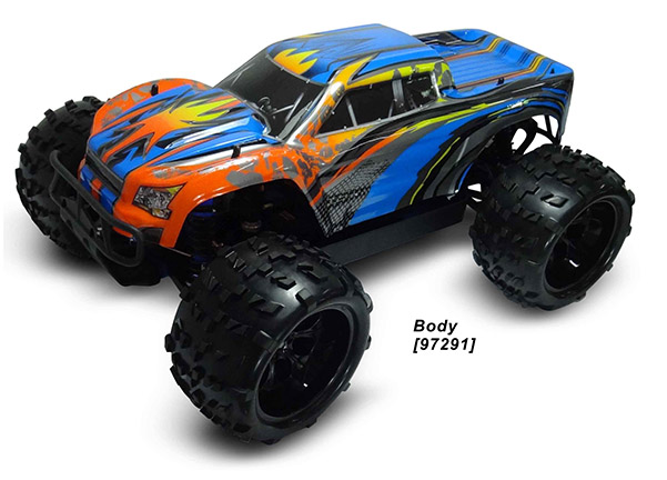 1/8 4WD NP MONSTER TRUCK (NO.:94972)