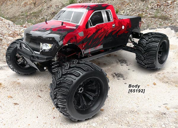 1/6 4WD NP MONSTER TRUCK (NO.:94650)