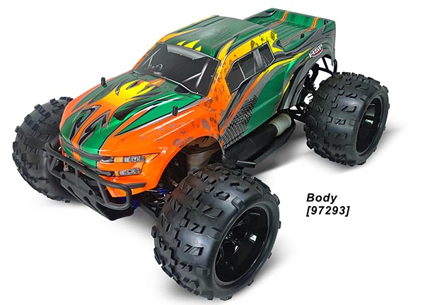 1/8 4WD EP MONSTER TRUCK (NO.:94996)