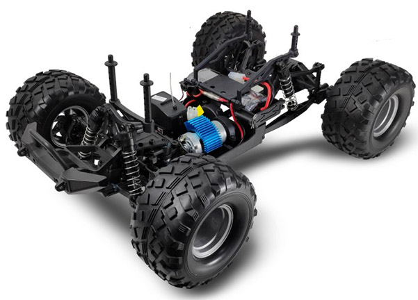 1/10 EP Rear Portal Axle MONSTER  (NO.:94710/94710PRO)