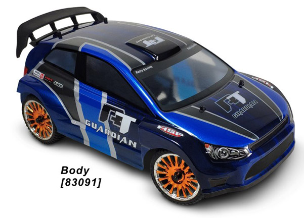 1/16 EP Rear Portai Axle RALLY (NO.:94830)