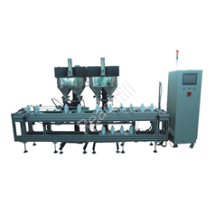 WQ-AL4000 four head auto toner filling production line