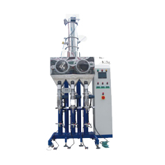 WQ-AY30 large capacity automatic feeding three heads toner filling machine
