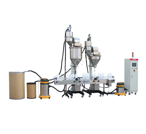 WQ-AL1800 linear full automatic filling production line