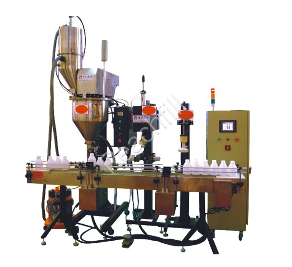 WQ-AL2000 bottled powder full automatic filling line