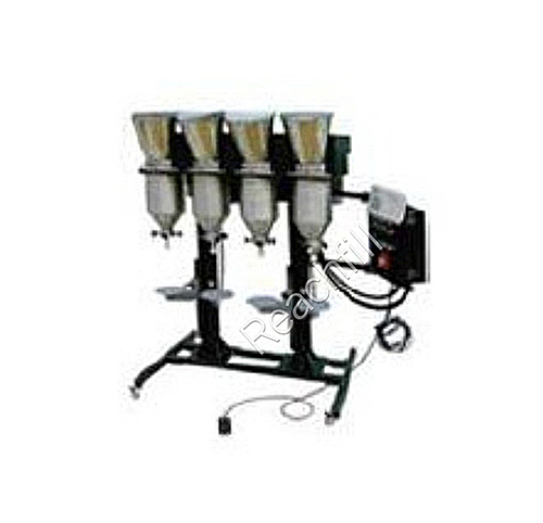 WQ-TG40 four head color toner filling machine