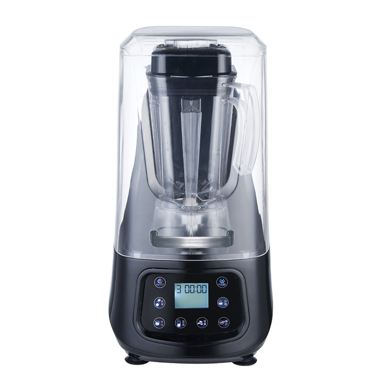 New design quiet blender, commercial juice blender with sound proof cover-CB-699D