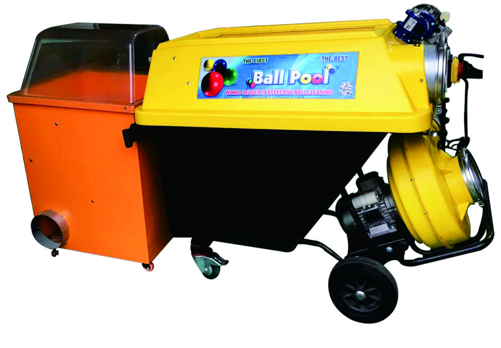 Ball washing machine