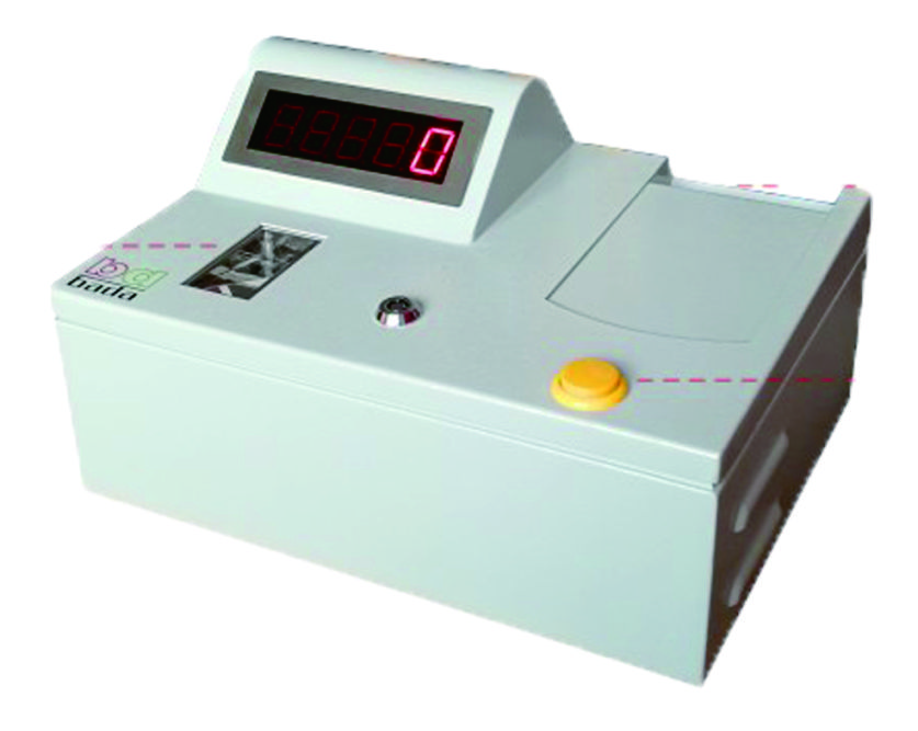 Counter ticket machine