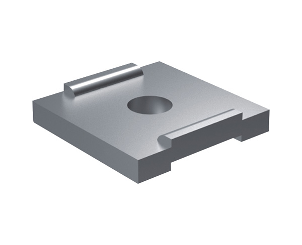 Channel steel buckle