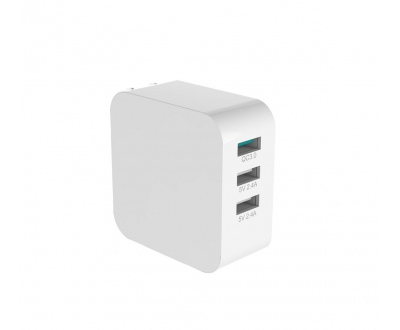 3 Ports USB Quick Charger 3.0