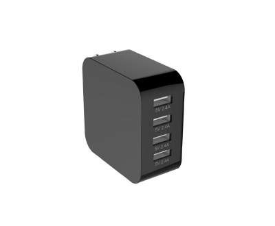 4 Ports USB charger US standard