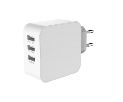 3 Ports USB charger EU_UK standard