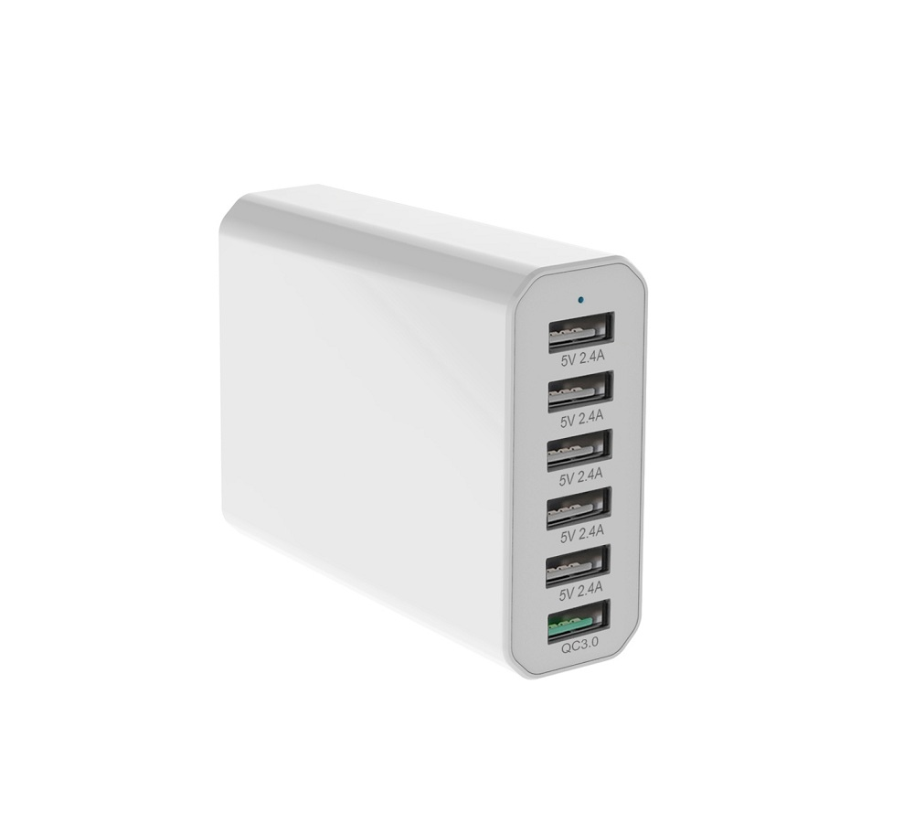 6 Ports USB Quick Charger 3.0