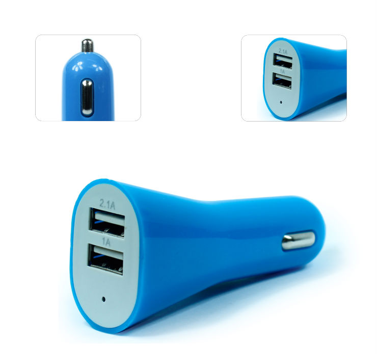 Car charger oval