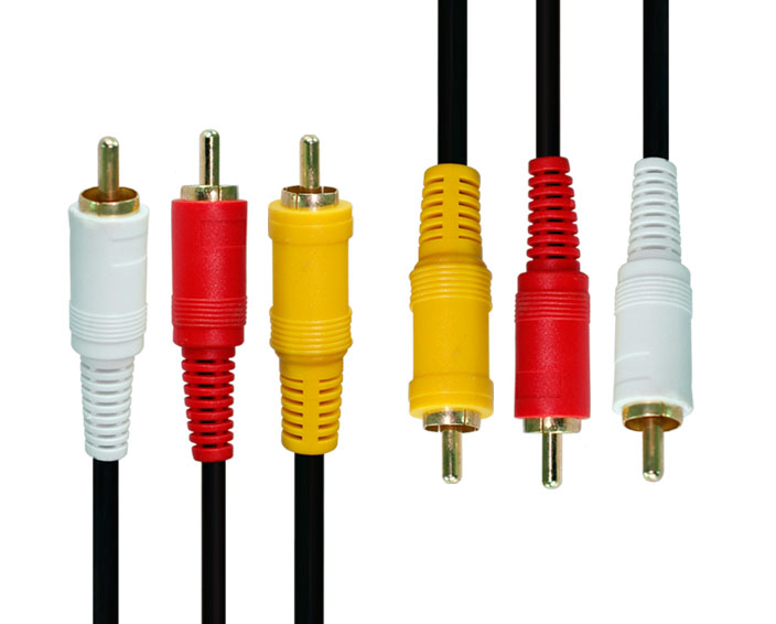 RCA3 to RCA3 Cable