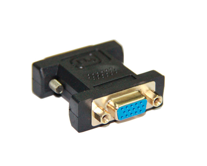 DVI24+5 Male to VGA Female Adapter