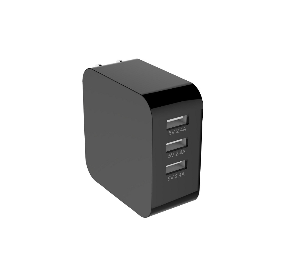 3 Ports USB charger US standard