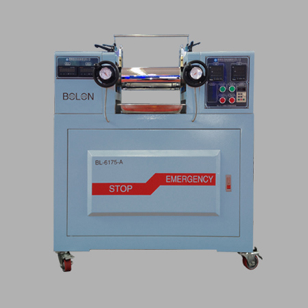 LABORATORY ROLL MILL(electric heating/instrument control type)