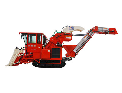 Gz - 91-4 cut sections of sugarcane combine harvester