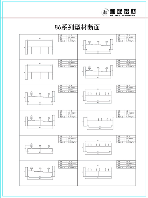 86 series sliding window