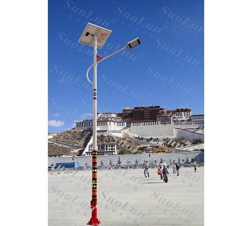 Ethnic wind solar street light
