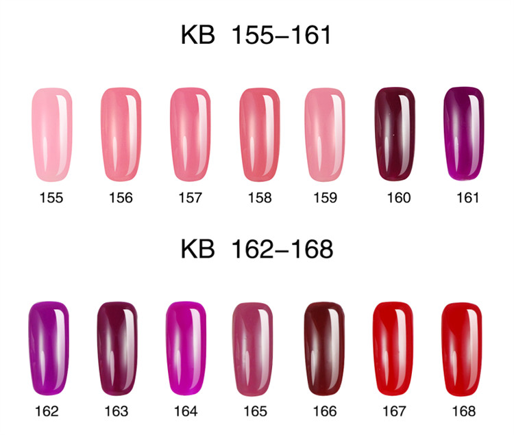 KB version of odorless nail polish