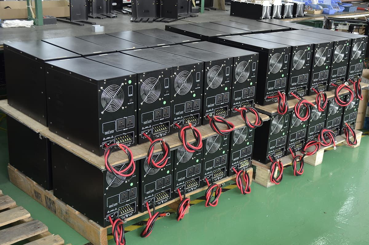 Part Of The Finished Inverters