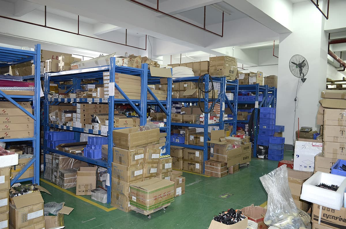 Small parts warehouse
